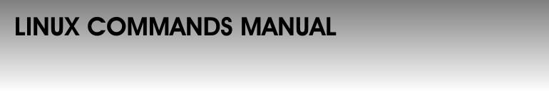 Linux Manual - Podręcznik komend